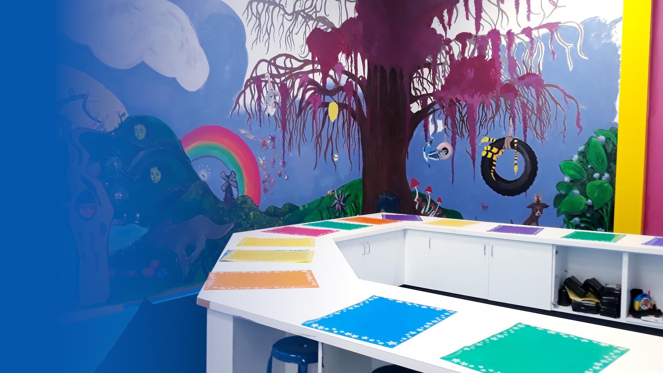 Creativity brings everyone together! Art Studio